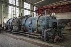 Siemens Turb (Camera_Shy.) Tags: industrial urban exploration steel works stahlwerk turbine siemens germany derelict ue turbines urbex abandoned disused old industry