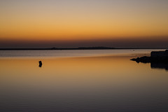 Hilbre Island Sunset Silhouette (David Chennell - DavidC.Photography) Tags: wirral twilight merseyside reflection hilbreisland silhouette westkirby