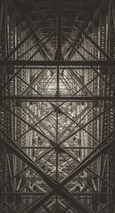 Structural Patterns (MontanaRoots (aka Craig)) Tags: deceptionpass whidbeyisland pugetsound bridge water pass island sound infrastructure span washington canon girders iron