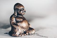 Buddha... (koolpepper) Tags: buddha 365the2017edition 3652017 day72365 13mar17 macromonday madeofmetal
