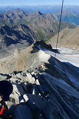 Aufstieg zum Hochfeiler (germanium) Tags: wandern sdtirol bergwandern hochfeiler bergwanderung pfitschtal hochfeilerhtte