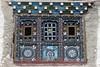 Tibetan House's window (Sophie et Fred) Tags: nepal house window architecture trek village kingdom lo tibetan mustang himalaya maison fenêtre chele 2015 royaume tibétain