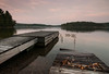 Two docks (jaros 2(Ron)) Tags: summer sky lake ontario canada water evening dock filter eveninglight cokin ndgrad buckshotlake pleva tokina111628 nikond300s plevnaontario