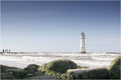 Perch Rock Lighthouse. (Petefromstaffs) Tags: blue lighthouse photography seaside interesting blueskies colourful merseyside wirralmerseyside canon60d perchrocklighthouse