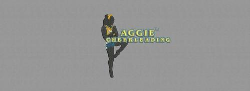 Aggie Cheer leading - embroidery digitizing by Indian Digitizer - IndianDigitizer.com