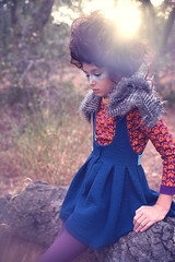 Where The Wildlings Are (Megan Dendinger) Tags: california blue autumn orange fall fleur fashion birds kids forest children poster photography losangeles kid photographer child purple plum megan dot socal ants raspberry editorial tween orangecounty conceptual anthem 2015 kidsphotographer fw15 aw15 dendinger meganalisaphotography