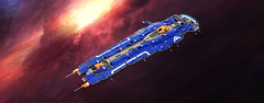 Hiigaran Battlecruiser (Rphilo004) Tags: 2 ship lego space spaceship homeworld fleet spacecraft moc microspace battlecruiser hiigaran shiptember
