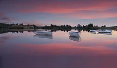 Red Sky At Night (Giovanni Giannandrea) Tags: sunset scotland sundown trossachs lochrusky lochanrusgaidh lakeofthepeeling