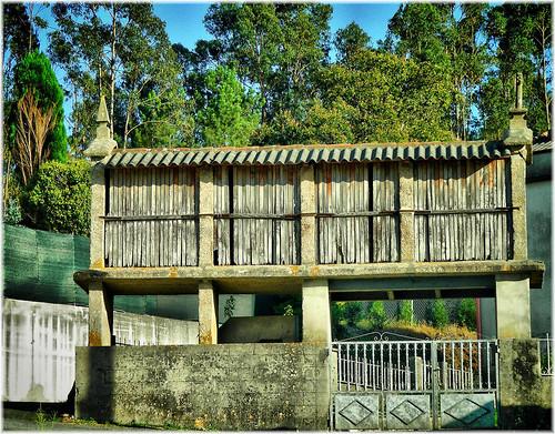 4689-Horreo en Lañas concello de Arteixo (A Coruña)