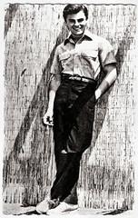 John Saxon (Truus, Bob & Jan too!) Tags: cinema film vintage john movie star kino postcard picture cine screen american hollywood moviestar movies actor postal postale saxon cartolina carte postkarte filmstar ansichtskarte ansichtkaart filmster postkaart briefkaart johnsaxon tarjet briefkarte