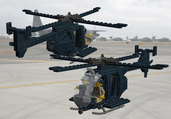 MH-6 Little Bird SO (Paradox Kid) Tags: america army lego aircraft military helicopter airforce usaf nato moc ldd