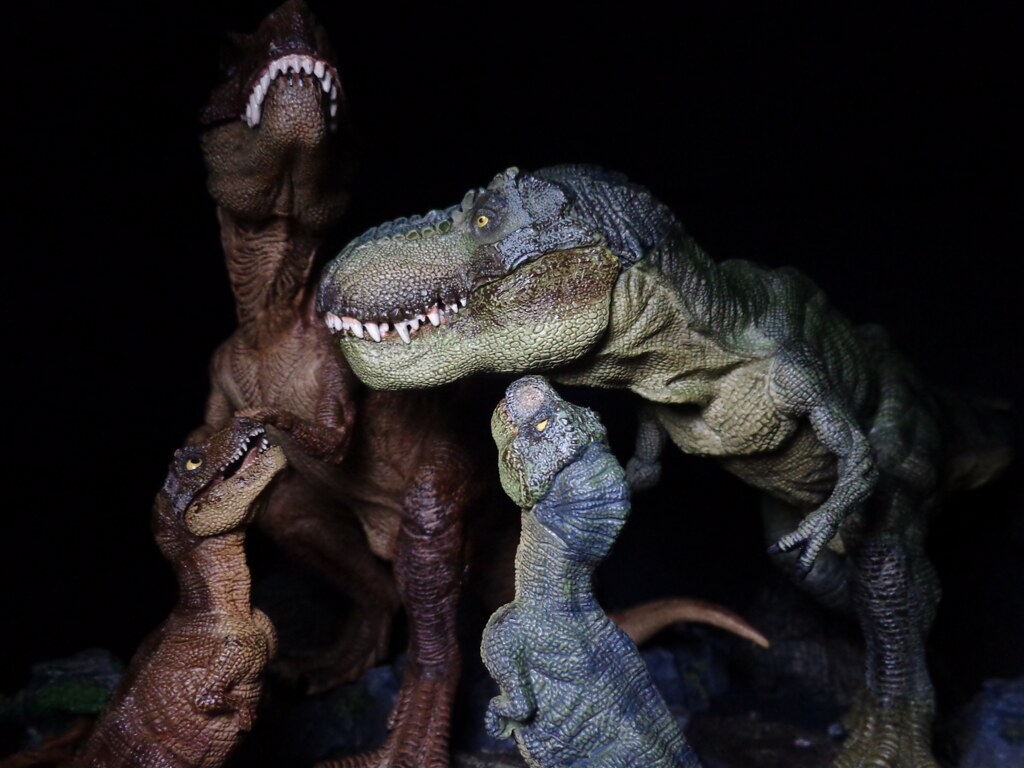 The world 39 s best photos of dinosaur and papo flickr hive for T rex family
