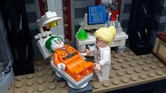 Arkham Asylum lego build. (terryfay1983) Tags: lego batman dccomics harleyquinn afol arkhamasylum legobatman legobuildings legodccomics thejokerlego