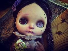 When is later? 🌔 #love #blythe #customblythe #doll #ブライス #カスタムブライス #人形 #halloweenfun