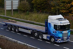 WS Transportation 6X215 PK14 UVR A1 Washington Services 22/10/15 (CraigPatrick24) Tags: road truck washington cab transport lorry delivery vehicle a1 trailer scania logistics flatbed ws stobart flatbedtrailer scaniar450 washingtonservices wstransportation pk14uvr 6x215 a1washington a1washingtonservices