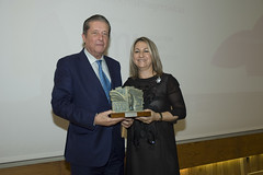 Federico Mayor Zaragoza y Yolanda Besteiro