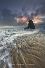Tempestous (hazarika) Tags: ocean sunset seascape davenport seastack davenportbeach canon1635mmf28liiusm canon5dmarkiii singhray3stopreversegnd mausamhazarikaphotography