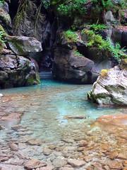 Gorges de Ballandaz  PLANAY  Tarentaise  SAVOIE (yoduc73) Tags: france montagne eau turquoise savoie gorges cascade torrent galets villard tarentaise planay ballandaz