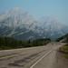 Montanhas Kananaskis pela rodovia 40