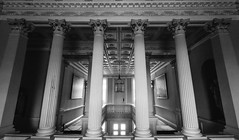 The Vyne (adamjpegg) Tags: architecture interior classical elegant pillars blacknwhite nationaltrust countryhouse thevyne