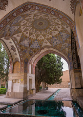shotor galou-e-shah abbasi in fin garden, Isfahan Province, Kashan, Iran (Eric Lafforgue) Tags: travel building tree tourism water fountain pool vertical architecture garden outdoors persian pond iran turquoise middleeast nobody nopeople landmark courtyard artificial basin unescoworldheritagesite pavilion iranian geography kashan geographic islamicarchitecture persiangulfstates fingarden watercanal cedartrees   16733 colourimage  iro isfahanprovince  baghefin westernasia  solomonspring bagdefin historicwalledgarden shotorgaloueshahabbasi thehsoleymaniehspring