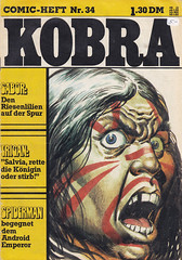 Kobra / Jahrgang 1975 Nr. 34 (micky the pixel) Tags: comics comic heft gevacurag kobra dasreichtrigan thetriganempire trigo trigan kriegsbemalung raggery warpaint donlawrence