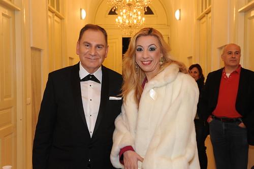 Costantino Salis και Μαρία Χατζηνικολάου