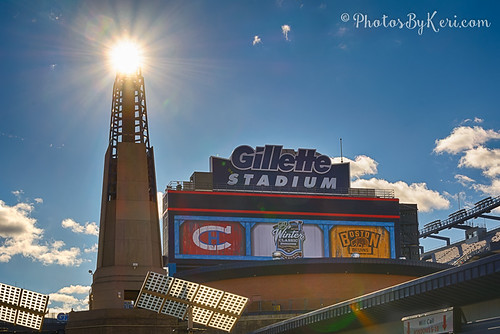 Beautiful Day at Gillette Stadium