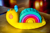 Snail (Andrzej Litewka) Tags: snail color toy fisherprice ślimak zabawka
