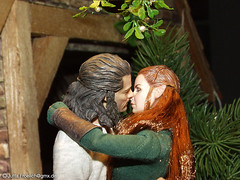 Bard and Tauriel (alegras dolls) Tags: middleearth thehobbit bardthebowman tauriel 16scale actionfigure asmustoys elves laketown lukeevans evangelinelilly waldelbin bogenschütze düsterwald mirkwood mittelerde