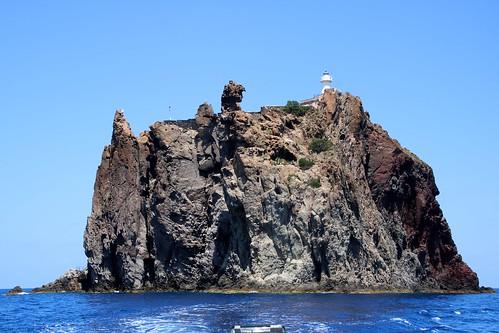 Îlot volcanique de Strombolicchio