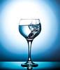Wine & Grape (Kinseri) Tags: wine glass grape water droplets drops blue product home studio liquid flash strobe canon 6d sigma 70200mm