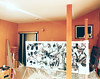 Work in progress (mayakonakamura) Tags: tonydevarco regenerations collaboration mayakonakamura tokyo abstract painting acrylic paper studio atelier workingspace