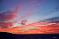 Morning sky (Kym.) Tags: andalucía andalusia blue cloud day4 morning nerja red sea sky spain view landscape