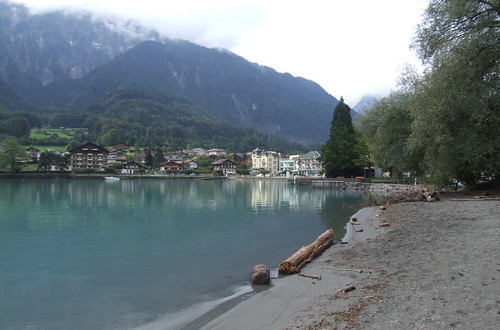 Coast of Lake Brienz, 03.09.2012.