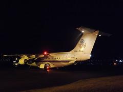 ZE700 British Aerospace BAe 146 (Aircaft @ Gloucestershire Airport By James) Tags: gloucestershire airport ze700 british aerospace bae 146 egbj james lloyds