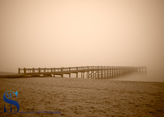 Fog around the Pier at Walnut beach this morning (Singing With Light) Tags: 2017 22nd alpha6500 ct duckpond january milford mirrorless singingwithlight a6500 foggy morning photography singingwithlightphotography sony walnutbeach