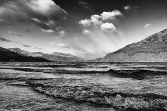 Loch Lomond (AdMaths) Tags: adammathesonphotography adammatheson argyllbute lochlomond lochlomondnationalpark loch nationalpark water scotland scottishlandscape scottish scenery scene scottishscenery landscape landscapebritish landscapeeuropenational uk unitedkingdom greatbritain britain mono monochrome blackwhite bw blackandwhite lomond trossachs national park lochlomondandtrossachsnationalpark panasoniclumixfz150 panasonic fz150 dmcfz150 lumixfz150 lumix bridgecamera benlomond waterscape waves