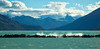 Breakwater on Lago Argentino  (Explored) (cheryl strahl) Tags: southamerica argentina patagonia losglaciaresnationalpark lagoargentino lakeargentino glacier andes mountains clouds icebergs icefield glaciallake glacialice breakwater explored