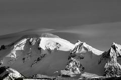 Mt. Baker (Dex Horton Photography) Tags: mtbaker lenticular cloud mountain mass glacier ice show snow winter wonderland blackandwhite bw monochrome whatcomcounty outinthecounty bestof washingtonstate dexhorton bnw