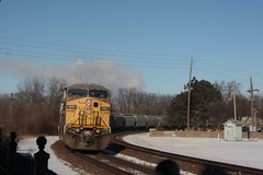 55238 (richiekennedy56) Tags: ac44cw unionpacific up6894 donballcurve douglascountyks kansas lawrence railphotos unitedstates usa