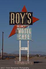 2007-08-14 Roys Cafe Amboy California (Travis Berryman) Tags: bnsf needlessub desertrailroading bagdad cadiz siberia
