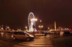 Paris Janvier 2017 - 31 la Grande Roue Place de la Concorde (paspog) Tags: paris france 2017 janvier january januar nuit nacht night placedelaconcorde granderoue