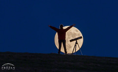 Danielle Super Moon (www.ArtofFrozenTime.com) Tags: astronomy beavermoon family frostymoon fullmoon moon moonrise supermoon ohio