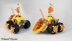 Febrovery 2017 Day 3 (TFDesigns!) Tags: lego space classic rover febrovery alien vehicle venusian fly