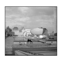 Empire Plaza, Albany NY (Sergei Prischep) Tags: bolta photavit 828 schneiderkreuznach xenar5028 24x24 kentmere100 film d76 35mm empireplaza albanyny