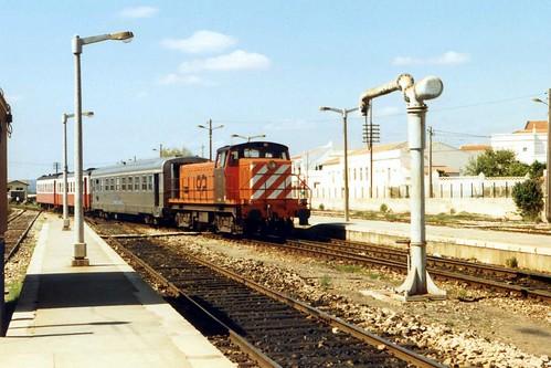CP 1209, Tunes, near Faro, Portugal. Circa 1998.