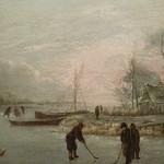 CAPPELLE Jan (van de),1653 - Paysage d'Hiver avec des Joueurs de Kolf (Custodia) - Detail 16 thumbnail
