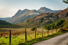 Langdale Pikes (The Lake District September 2016 #15) (Lazlo Woodbine) Tags: landscape langdale langdalepikes bleatarn countryside britain britishcountryside uk nature nationaltrust cumbria lakedistrict thelakedistrict nationalpark september 2016 mountain mountains hills pentax k7 1855mm hdr lightroom