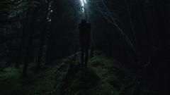 Dismal explore. (AloysiaVanTodd) Tags: portrait autoportrait selfportrait natural nature forest wood explore human sombre soul dark dismal lugubre expressive sensitivity escape